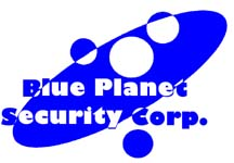 Blue Planet Security Logo/Trademark