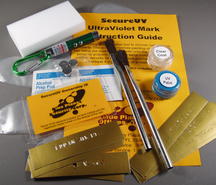 SecureUV Marking Kit