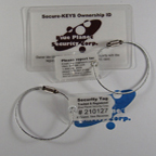 High security key tags and chains $14.95